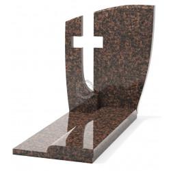Памятник эксклюзивный ЭК-14 А Коричневый (1270*800 мм)