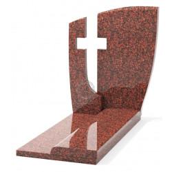 Памятник эксклюзивный ЭК-14 А Красный (1270*800 мм)
