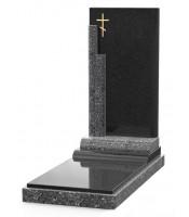 Памятник эксклюзивный ЭК-12 Голубой/Чёрный (1410*600 мм)