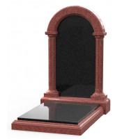 Памятник эксклюзивный ЭК-25 Чёрный/Красный (1400*800 мм)