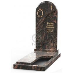Памятник эксклюзивный ЭК-17 Коричневый (1400*600 мм)
