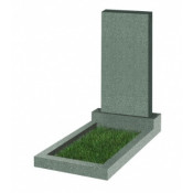 Памятник прямоугольный К-2 Зелёный (800*400*50 мм)