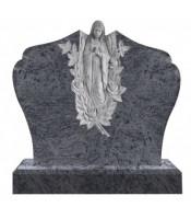 Памятник элитный Э-10 Голубой (1100*1300*120 мм)