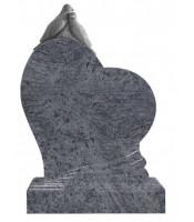 Памятник элитный Э-11 Голубой (1300*1000*100 мм)