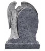 Памятник элитный Э-14 Голубой (1400*1000*120 мм)