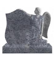 Памятник элитный Э-15 Голубой (1400*1000*140 мм)