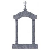 Памятник элитный Э-24 Голубой (2560*1200*300 мм)