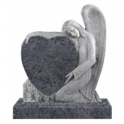 Памятник элитный Э-5 Голубой (1300*1100*120 мм)