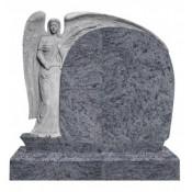 Памятник элитный Э-3 Голубой (1180*1300*120 мм)