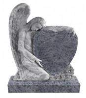 Памятник элитный Э-1 Голубой (1300*1100*120 мм)