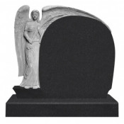 Памятник элитный Э-3 Чёрный (1180*1300*120 мм)
