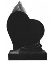 Памятник элитный Э-11 Чёрный (1300*1000*100 мм)