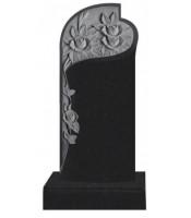 Памятник элитный Э-12 Чёрный (1600*700*120 мм)