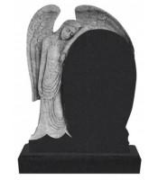 Памятник элитный Э-14 Чёрный (1400*1000*120 мм)