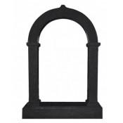 Памятник элитный Э-4 Чёрный (1630*1180*200 мм)