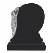 Памятник элитный Э-6 Чёрный (1300*1100*120 мм)