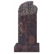 Памятник элитный Э-12 Коричневый (1600*700*120 мм)