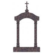 Памятник элитный Э-24 Коричневый (2560*1200*300 мм)