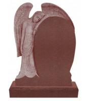Памятник элитный Э-14 Красный (1400*1000*120 мм)