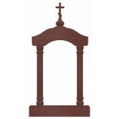 Памятник элитный Э-24 Красный (2560*1200*300 мм)