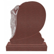 Памятник элитный Э-6 Красный (1300*1100*120 мм)