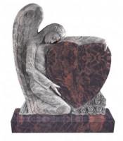 Памятник элитный Э-1 Коричневый (1300*1100*120 мм)
