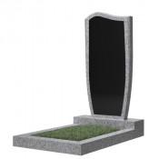 Памятник фигурный эконом Ф-21 Чёрно-серый (1000*450*50 мм)