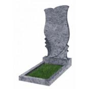 Памятник фигурный Ф-53 Голубой (1100*550*70 мм)
