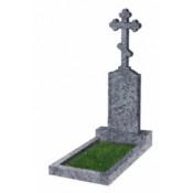 Памятник фигурный Ф-69 Голубой (1500*400*100 мм)