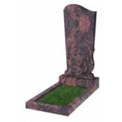Памятник фигурный Ф-33  Коричневый (1100*500*70 мм)