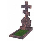 Памятник фигурный Ф-40  Коричневый (1200*500*70 мм)