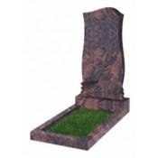 Памятник фигурный Ф-48 Коричневый (1100*550*70 мм)