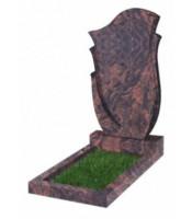 Памятник фигурный Ф-55 Коричневый (1100*600*70 мм)
