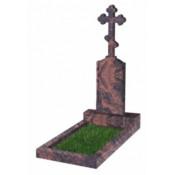 Памятник фигурный Ф-69 Коричневый (1500*400*100 мм)