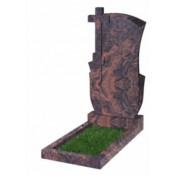Памятник фигурный Ф-76 Коричневый (1100*600*70 мм)