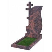 Памятник фигурный Ф-77 Коричневый (1100*600*70 мм)