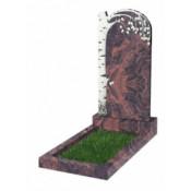 Памятник фигурный Ф-84 Коричневый (1100*550*70 мм)