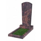 Памятник фигурный Ф-89 Коричневый (1100*500*70 мм)