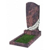 Памятник фигурный Ф-96 Коричневый (1100*600*70 мм)