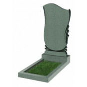 Памятник фигурный эконом Ф-56 Зелёный (1000*500*50 мм)