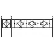 Оградка ритуальная К-11