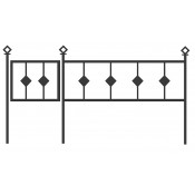 Оградка ритуальная С-5