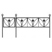 Оградка ритуальная С-3