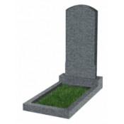 Памятник фигурный эконом Ф-18 Тёмно-серый (1000*450*50 мм)