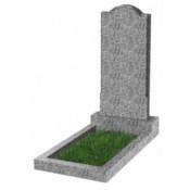 Памятник фигурный эконом Ф-10 Светло-серый (1000*450*50 мм)