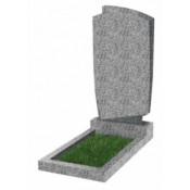 Памятник фигурный эконом Ф-39 Светло-серый (800*450*50 мм)