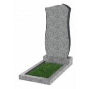 Памятник фигурный эконом Ф-41 Светло-серый (800*400*50 мм)