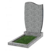 Памятник фигурный эконом Ф-42 Светло-серый (800*450*50 мм)