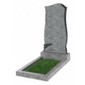 Памятник фигурный эконом Ф-48 Светло-серый (800*400*50 мм)