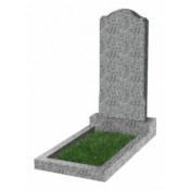 Памятник фигурный эконом Ф-11 Светло-серый (800*400*50 мм)